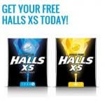 New Halls XS, 500 free each day. Lemon and Peppermint, sugar free.