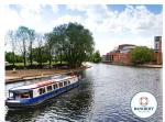River Avon Cruise for One Person with Cream Tea (£5) or for Two Adults and Two Children (£9), Stratford upon Avon