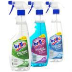 Brillo kitchen, bathroom and window trigger sprays 49p @ Home Bargains