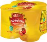 4 Pack Heinz Spaghetti at Poundstretcher £1.49