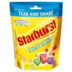 Starburst Fruity Chews 192G Bag 70p in tesco online/store