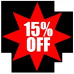 15% OFF EVERYTHING @ WOWHD UNTIL SUNDAY!