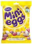 Cadbury mini eggs 100g pack 44p each or 3 for a £1 @ poundstretcher
