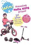 Win a Hello Kitty bike, bag and helmet @Blossom magazine