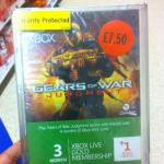 3+1 Xbox live gold membership at Sainsbury Gears of War judgment branded £7.50