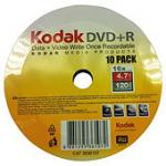 Kodak DVD+R 16x 50 pack spindle £5 @Tesco