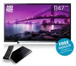 """Sony KDL40R473 40"""" LED TV with FREE Sony Google TV NSZGS7 Internet Player worth £149! at PRC Direct £399"""