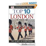 A Selection of DK Eyewitness Top 10 Travel Guides for £0.99 each! @ Amazon (Kindle Daily Deal) - e.g London, Singapore, Hong Kong, LA...