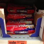 Mcvities hobnob cookie choc and hazelnut - Sainsburys 55p