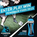 Free sports bottle with purchase of Powerade (selected bottles)