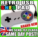 USB PC Retro Gaming Controller Joypad Snes Style Pad £3.94 @ Ebay/ The Ninja's Castle