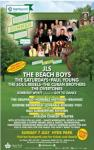 Family ticket to see JLS, Beach Boys, The Saturdays, Paul Young at Hyde Park £45 sold by Amazon Local