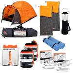 2 or 4 Man Festival Survival Camping Set - Tent, Sleeping Bags, Matts, LED Lamp £89.99 from Ebay/ worldstores