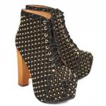 Jeffrey Campbell Lita-Q studded suede boots £35 @ Harvey Nicks