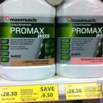 MAXIMUSCLE PROMAX Diet/Lean Protein 1.2kg £28.50 down from £38 instore @ Tesco