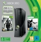 Xbox 360 250GB with Batman: Arkham City, Darksiders II and 1 month Xbox Live Gold Membership *£169.99 with Code* @Game