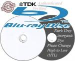 Blu-ray TDK 25 Pack 25 GBs x6 speed - Sold by Blank-Discs-Com Fulfilled by Amazon, £15.44