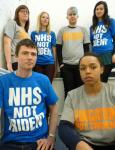 'NHS NOT TRIDENT' T-Shirt Ethically and Organically made!!! Just £10 @ cnduk