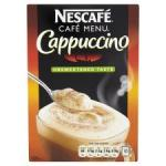 Nescafe Unsweetened Cappuccino 10S 172G £1.49 instore at Tesco