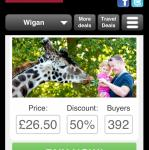 Half price Knowsley Safari Park family pass £26.50 @ dealmonster