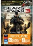 Xbox LIVE Gold Card Gears Of War 3 - 12 + 2 Months and Bonus Weapon Skin £29.97 @ blockbuster.co.uk