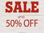 upto 50% off sale. @ Timberland UK