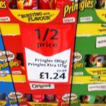 Pringles/Pringles Xtra. £1.24 instore @ Morrisons