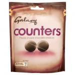 Galaxy counters and minstrels 140g pouches half price - £1@Tesco