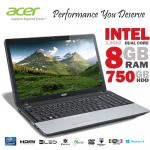 """Acer TM 15.6"""" Intel Dual Core 8GB RAM 750GB HDD Laptop £279.96 @ dabs_outlet (ebay)"""