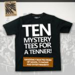 10 t-shirts Bundle for £10 or 10 T-Shirts + 3 Hoodies Bundle for £20 (delivery fee £3.68 or £1.65) @ Mamstore