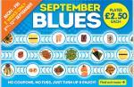 Yo Sushi! September Blues Monday to Friday plates at £2.50