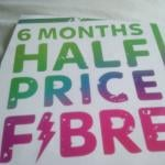 Sky Fibre Unlimited 6 Months Half Price  No Activation Fee ( new & existing customers)