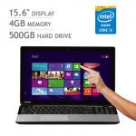 Toshiba L50t-131 15.6 inch Touchscreen Notebook, Silver - £519.99