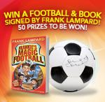 Win 1 of 50 footballs and books signed by Frank Lampard @ Giraffe
