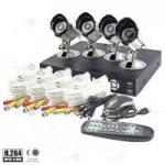 Tutis 4 Channel + 4 Camera H.264 DVR Security System Special Offer Price: £139.99 from UKDVDR.co.uk