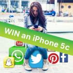 FB comp - Win an iPhone 5C with JTsocial