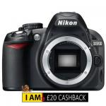 Nikon D3100 Body £228 ( £208) after Nikon Cashback@Cameracentreuk