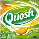 Case of Quosh Tropical Flavour Squash Mix 12 x 60g 99p + £5.25 delivery @ Approved Food