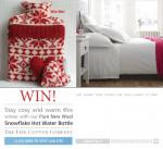 Win a hot water bottle and cover! :) (Facebook) The Fine Cotton Company
