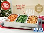 Stainless Steel Buffet Server £24.99 @ aldi