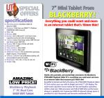 """Blackberry playbook 7"""" tablet £76.94(WITH CODE) IJTdirect"""