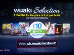 Wuaki.tv 3 Months for the price of 1 PLUS £10 Xbox Gift Card! £4.99 @ wuaki