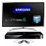 Samsung UE40F6100 40 In TV + Free 3D Smart Blu-ray & Glasses £509.99 @ Argos