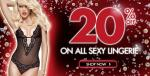 £25 off when you spend £100 @ La Senza - Plus 15% Cashback with Quidco!