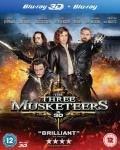 The Three Musketeers Blu Ray 3D+Blu Ray 2D £6 @Tesco Direct