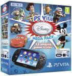PS Vita 16GB WiFi 3G 6 Disney Games (download) PS Plus Trial £144.99 - Amazon