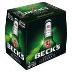 Becks 12x275ml - 3 for £21