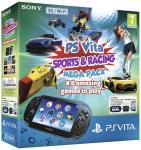 PS Vita (2013) Sports and Racing MegaPack 16gb Wifi/3G - £139.99 Amazon