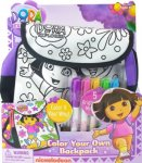 Dora Colour Your Own Backpack £2.94 (add on item) at Amazon