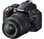 NIKON D3100 DSLR Camera with 18-55 mm VR Telephoto Zoom Lens for £249 with cashback (£269.00 without cashback) @ Currys